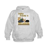 Daddy Drives a Bulldozer Hoodie