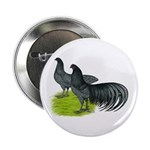"Blue Sumatra Chickens 2.25"" Button (10 pack)"