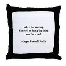 Funny Writers Throw Pillow