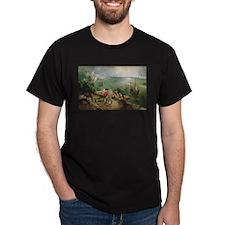 Cute Falling on ice T-Shirt