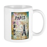 Shabby Chic Paris Mug