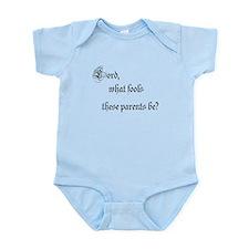 Fool_parents Body Suit
