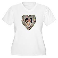 Victorian Valentines Boy w/ B T-Shirt