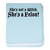 Christine O'Donnell Felon baby blanket