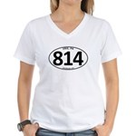 Erie, PA 814 Women's V-Neck T-Shirt