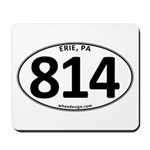 Erie, PA 814 Mousepad