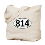 Erie, PA 814 Tote Bag