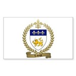 LAFORGE Family Crest Sticker (Rectangle 10 pk)