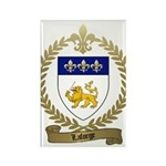 LAFORGE Family Crest Rectangle Magnet (100 pack)