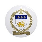 LAFORGE Family Crest Ornament (Round)