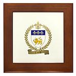 LAFORGE Family Crest Framed Tile