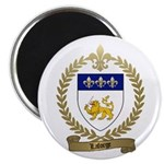 "LAFORGE Family Crest 2.25"" Magnet (10 pack)"