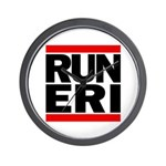 RUN ERI Wall Clock
