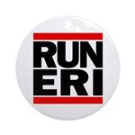 RUN ERI Round Ornament (Round)