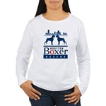 Boxer Women's Long Sleeve T-Shirt