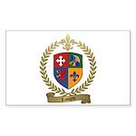 LAVIGNE Family Crest Sticker (Rectangle 50 pk)