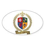 LAVIGNE Family Crest Sticker (Oval 50 pk)