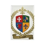 LAVIGNE Family Crest Rectangle Magnet