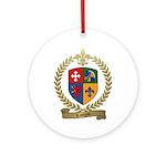 LAVIGNE Family Crest Ornament (Round)