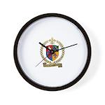 LAVIGNE Family Crest Wall Clock