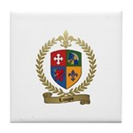 LAVIGNE Family Crest Tile Coaster