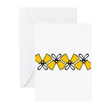 Bold Bell Border Greeting Cards (Pk of 20)