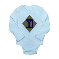 Yankee Long Sleeve Infant Bodysuit
