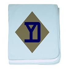 Yankee baby blanket