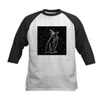 Party Penguin Kids Baseball Jersey