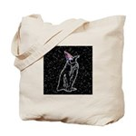 Party Penguin Tote Bag