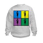 Color Peace Baby Girl Gear Kids Sweatshirt