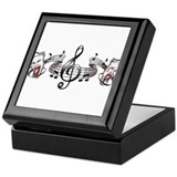 Theater and Music Keepsake Box