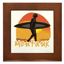 Montauk Surf Framed Tile
