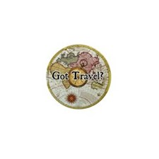 """Got Travel?"" Mini Button"