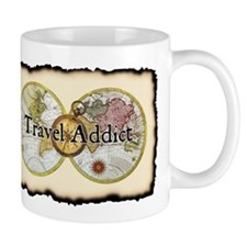 """Travel Addict"" Mug"