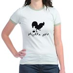 Chicken Shit Jr. Ringer T-Shirt
