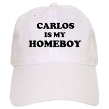Carlos Is My Homeboy Baseball Cap
