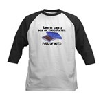 Full Of Nuts Kids Baseball Jersey