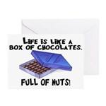 Full Of Nuts Greeting Cards (Pk of 20)