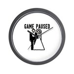 Game Paused Wall Clock