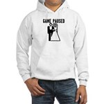 Game Paused Hooded Sweatshirt