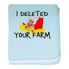 Deleted Farm baby blanket