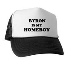 Byron Is My Homeboy Trucker Hat