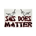 Sais Does Matter Rectangle Magnet