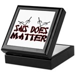 Sais Does Matter Keepsake Box