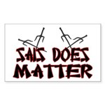 Sais Does Matter Sticker (Rectangle)