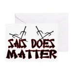 Sais Does Matter Greeting Card