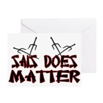 Sais Does Matter Greeting Cards (Pk of 10)