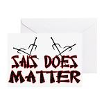 Sais Does Matter Greeting Cards (Pk of 20)