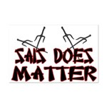 Sais Does Matter Mini Poster Print